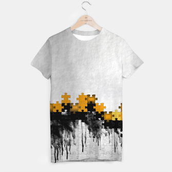 Thumbnail image of puzzle -4- T-shirt, Live Heroes