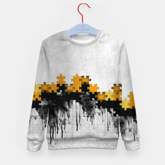 Thumbnail image of puzzle -4- Kid's Sweater, Live Heroes