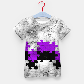 Thumbnail image of puzzle -1- Kid's T-shirt, Live Heroes