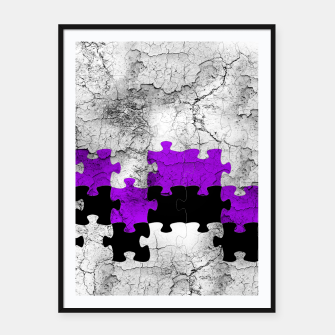 Thumbnail image of puzzle -1- Framed poster, Live Heroes