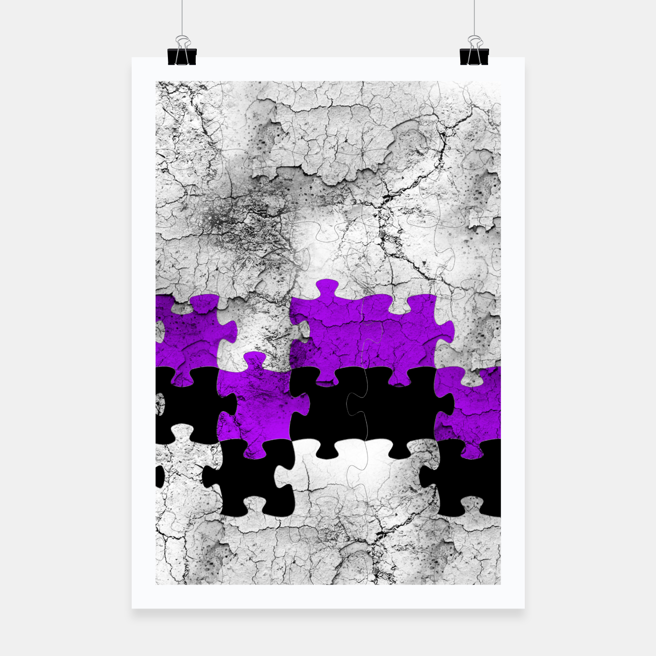 Image of puzzle -1- Poster - Live Heroes