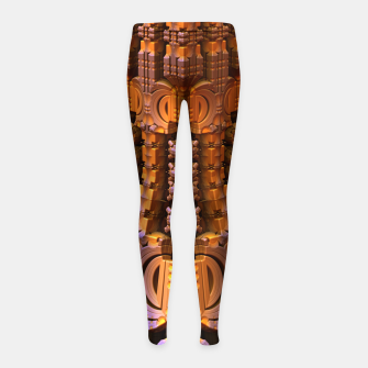Thumbnail image of amazing -4- Girl's Leggings, Live Heroes