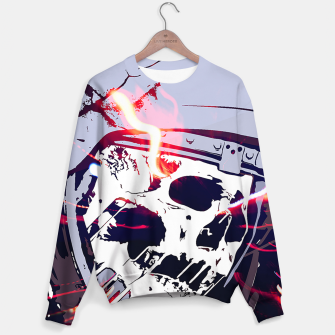 Thumbnail image of Mission to MARS Sweater, Live Heroes