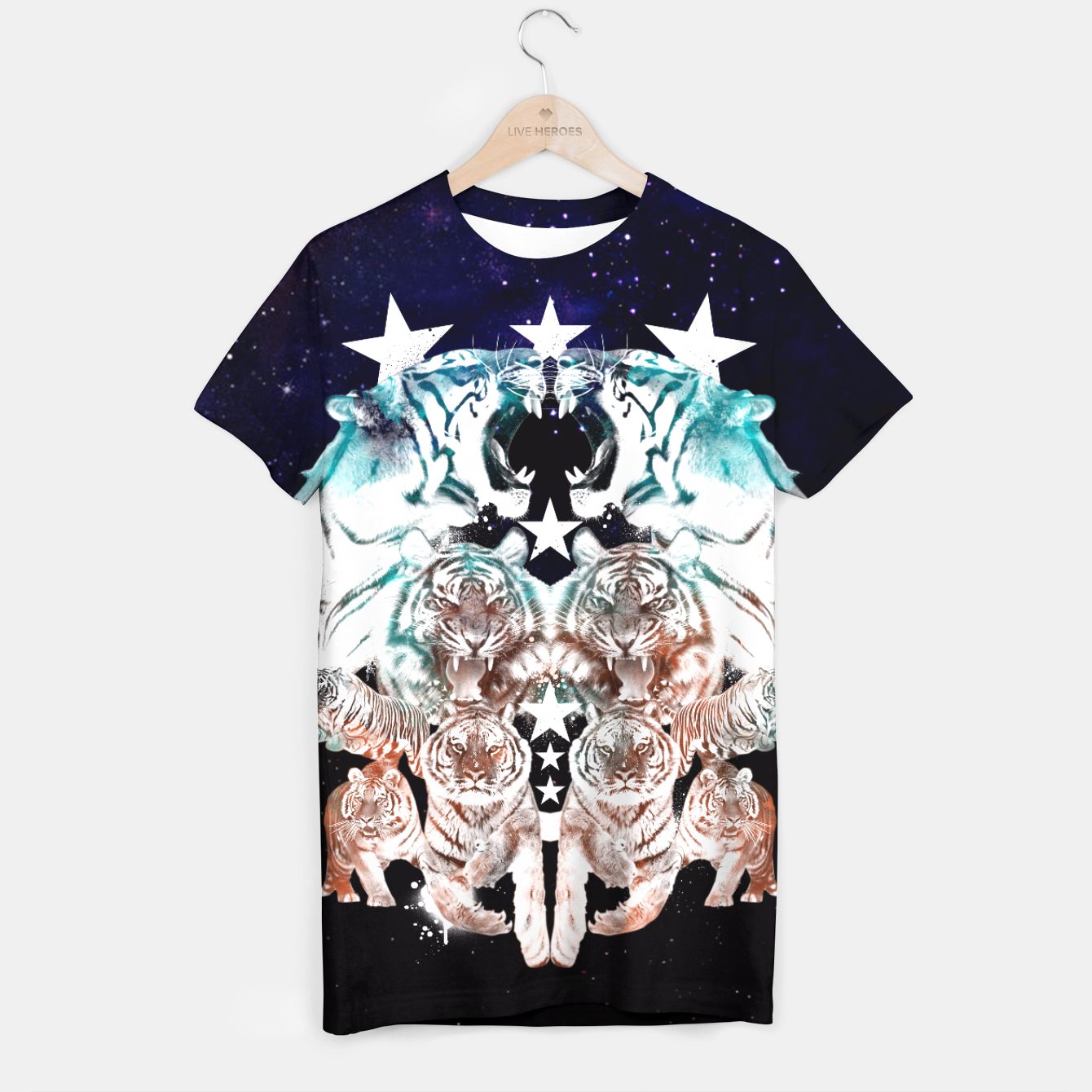 Image of SABRETOOTH T-shirt - Live Heroes