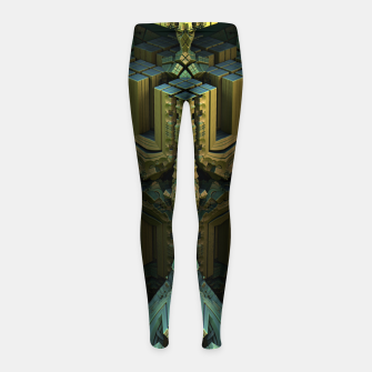 Thumbnail image of amazing -6- Girl's Leggings, Live Heroes