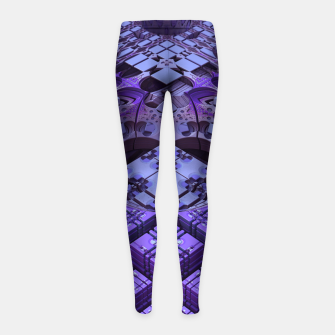 Thumbnail image of amazing -7- Girl's Leggings, Live Heroes