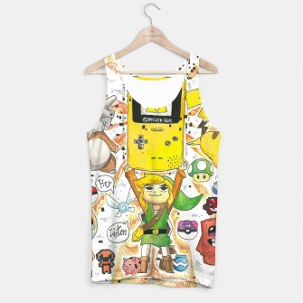 Thumbnail image of Video Games - Tank Top, Live Heroes