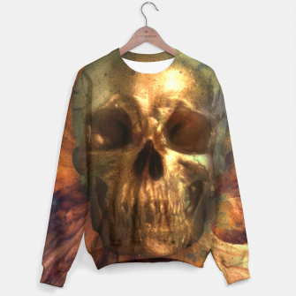 Thumbnail image of Gold Skull Sweater, Live Heroes