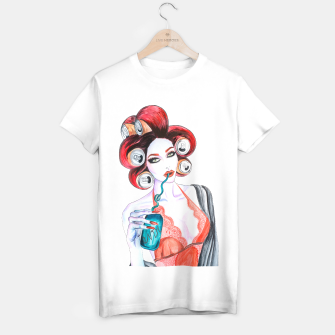 Miniatur Red Head Beauty T-shirt regular, Live Heroes