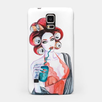 Red Head Beauty Samsung Case imagen en miniatura