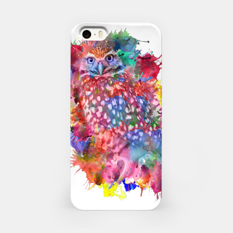 Rainbow owl iPhone Case obraz miniatury