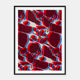 Thumbnail image of 3D artistic spots Framed poster, Live Heroes