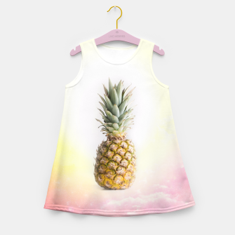 Thumbnail image of Pineapple Girl's Summer Dress, Live Heroes