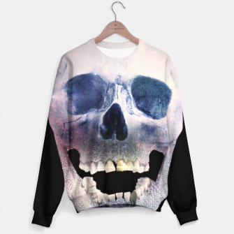 Thumbnail image of I'm only human - Skull Sweater, Live Heroes