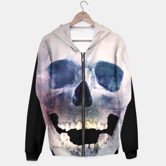 Thumbnail image of I'm only human - Skull Hoodie, Live Heroes
