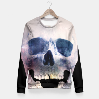 Thumbnail image of I'm only human - Skull Fitted Waist Sweater, Live Heroes