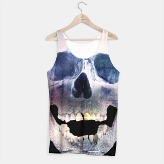Thumbnail image of I'm only human - Skull Tank Top, Live Heroes