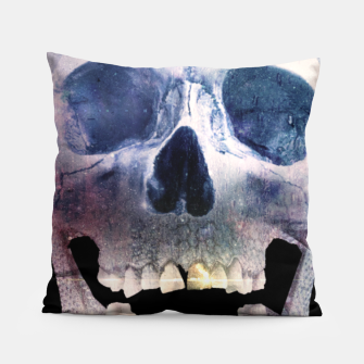 Thumbnail image of I'm only human - Skull Pillow, Live Heroes