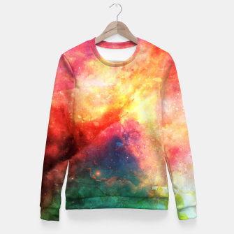 Thumbnail image of Space Design 11 Taillierte Sweatshirt, Live Heroes