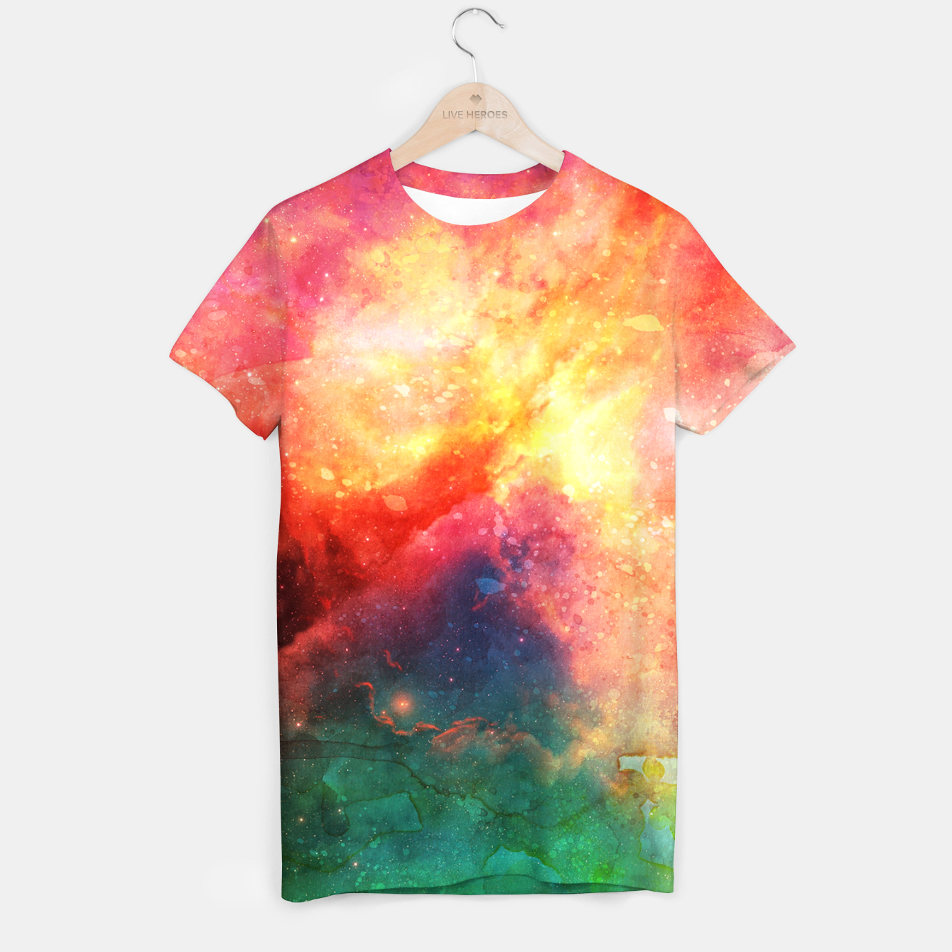 Image of Space Design 11 T-Shirt - Live Heroes