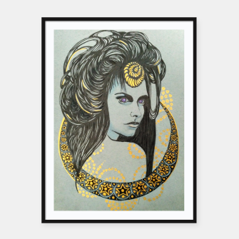 Thumbnail image of Witchy Framed poster, Live Heroes