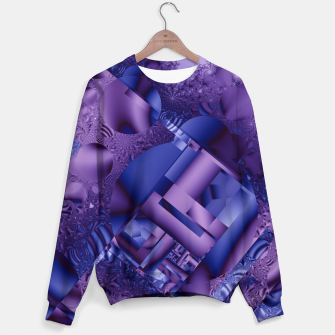 Thumbnail image of structures lilac Sweater, Live Heroes