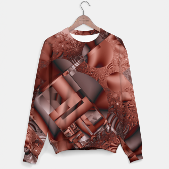 Thumbnail image of structures dark red Sweater, Live Heroes