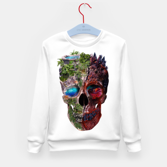 Thumbnail image of Metamorphosis Kid's Sweater, Live Heroes