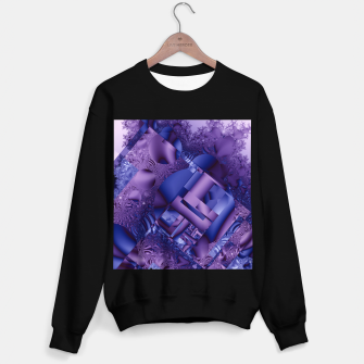 Thumbnail image of structures lilac Sweater regular, Live Heroes