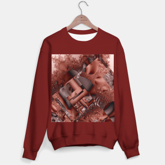 Thumbnail image of structures dark red Sweater regular, Live Heroes