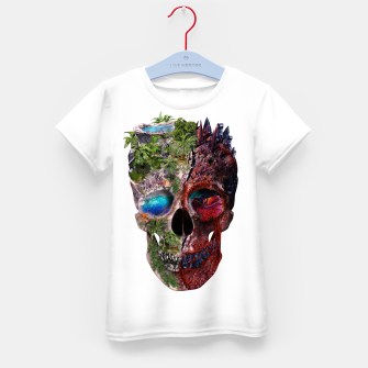 Thumbnail image of Metamorphosis Kid's T-shirt, Live Heroes