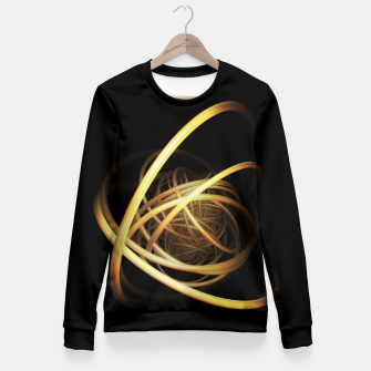 Thumbnail image of orbits Fitted Waist Sweater, Live Heroes