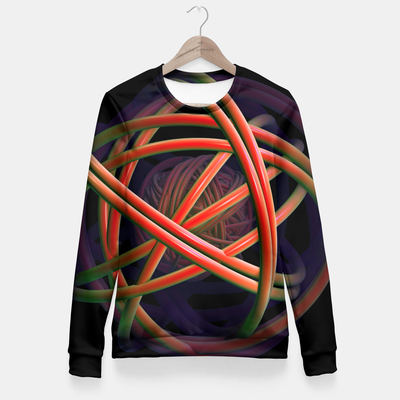 Image of universal Fitted Waist Sweater - Live Heroes