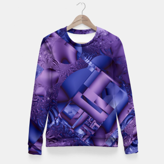Thumbnail image of structures lilac Fitted Waist Sweater, Live Heroes