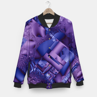 Thumbnail image of structures lilac Baseball Jacket, Live Heroes