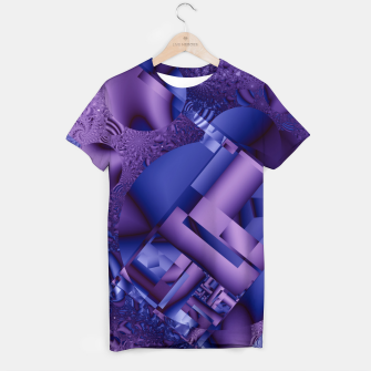 Thumbnail image of structures lilac T-shirt, Live Heroes