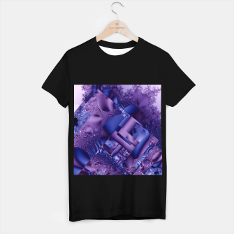 structures lilac T-shirt regular thumbnail image