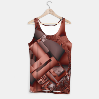 Thumbnail image of structures dark red Tank Top, Live Heroes