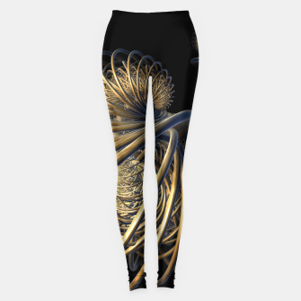 Thumbnail image of orbits and rings Leggings, Live Heroes