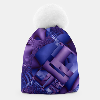 Thumbnail image of structures lilac Beanie, Live Heroes