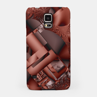 structures dark red Samsung Case thumbnail image