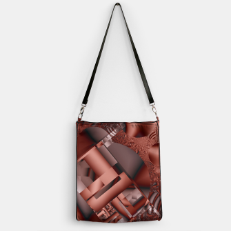 Thumbnail image of structures dark red Handbag, Live Heroes