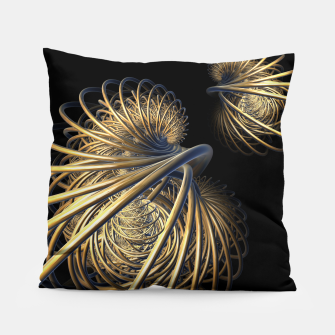orbits and rings Pillow thumbnail image