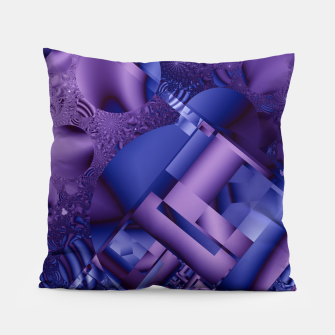 structures lilac Pillow thumbnail image
