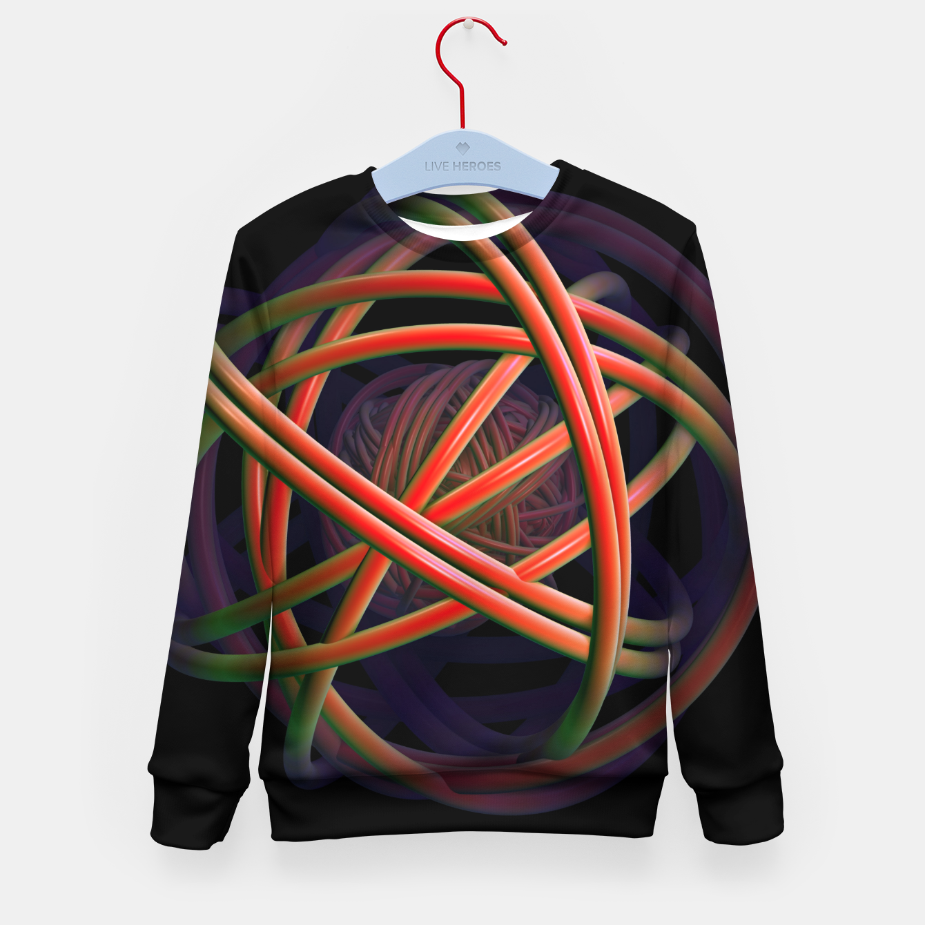 Image of universal Kid's Sweater - Live Heroes