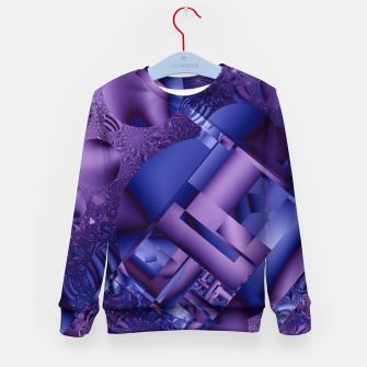 Thumbnail image of structures lilac Kid's Sweater, Live Heroes