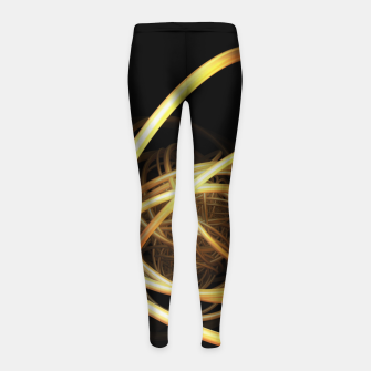 Thumbnail image of orbits Girl's Leggings, Live Heroes