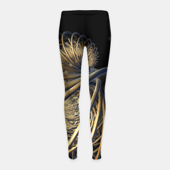 Thumbnail image of orbits and rings Girl's Leggings, Live Heroes