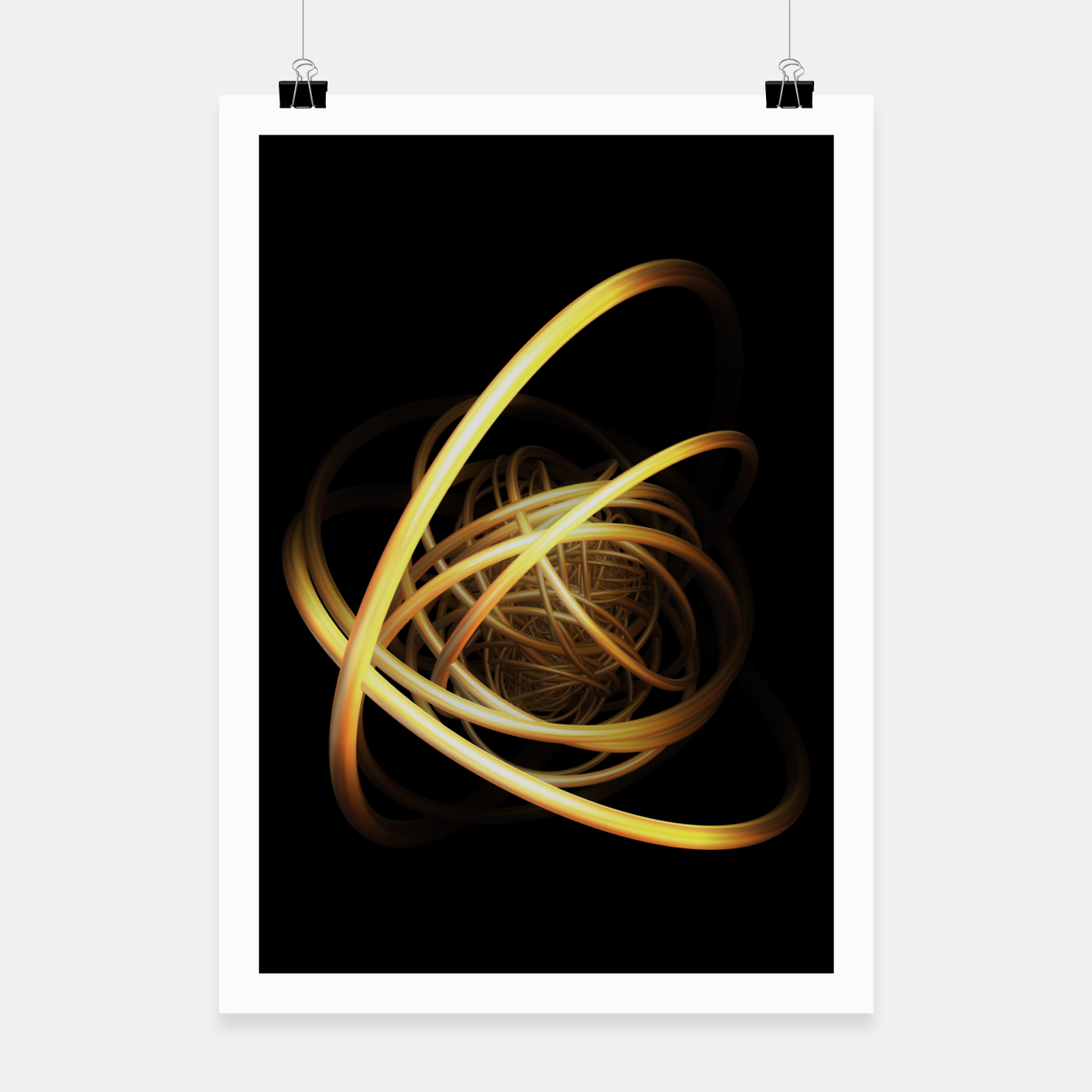 Image of orbits Poster - Live Heroes