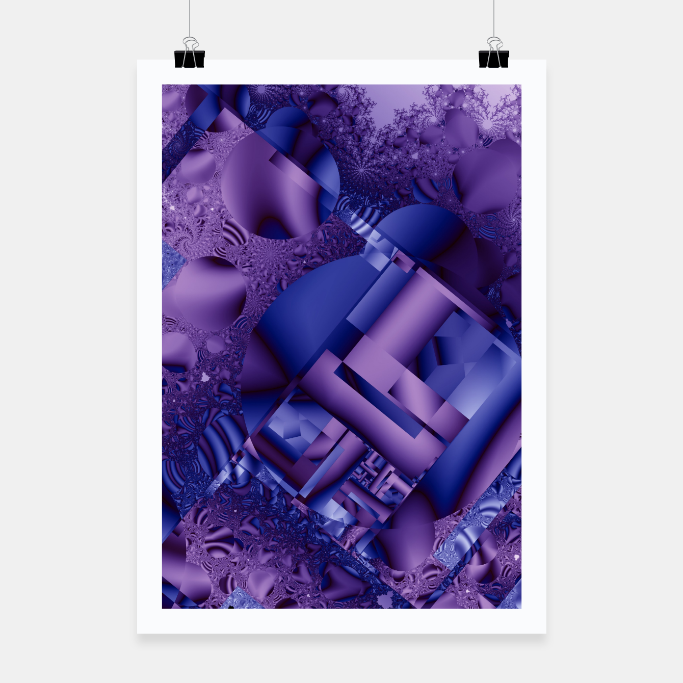 Image of structures lilac Poster - Live Heroes